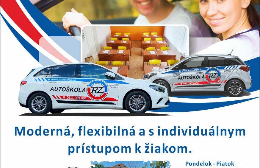 Leták Autoškoly RZ